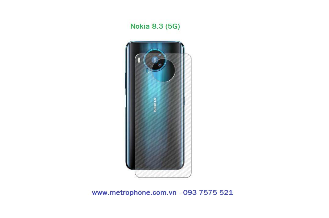 miếng dán carbon mặt lưng nokia 8.3 5g metrophone.com.vn
