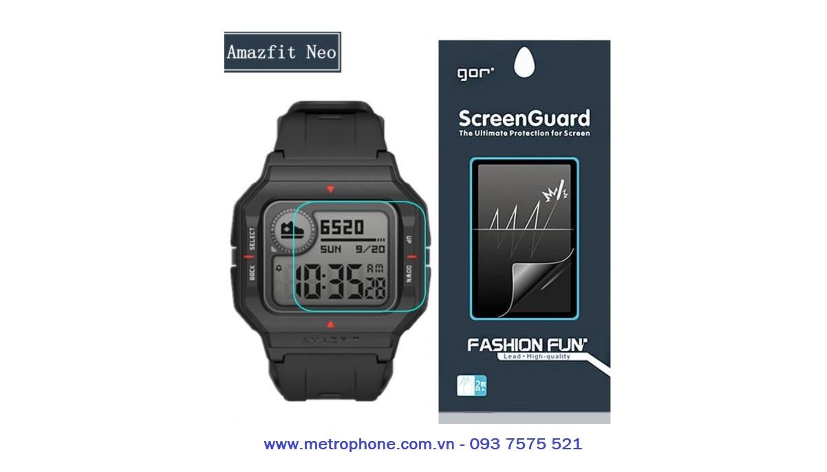 miếng dán màn hình cho xiaomi amazfit neo metrophone.com.vn